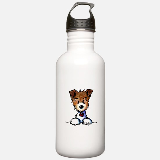KiniArt Pocket JRT Water Bottle
