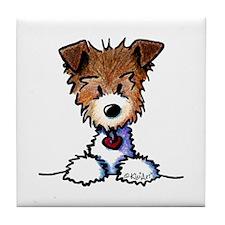 KiniArt Pocket JRT Tile Coaster