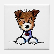 KiniArt Pocket JRT Tile Coaster