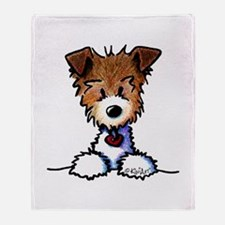 KiniArt Pocket JRT Throw Blanket