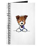 Jack russell terrier Journals & Spiral Notebooks