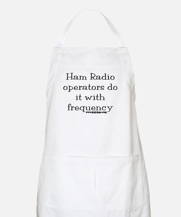 Ham Radio Operators Do It (2) BBQ Apron