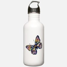 Exotic Butterfly Water Bottle
