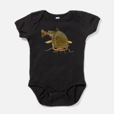 Fat Flathead catfish Baby Bodysuit