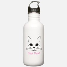 Check Meowt! Water Bottle