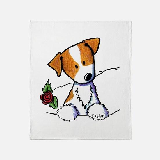 Pocket Rose JRT Throw Blanket