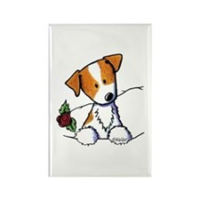 Pocket Rose JRT Rectangle Magnet