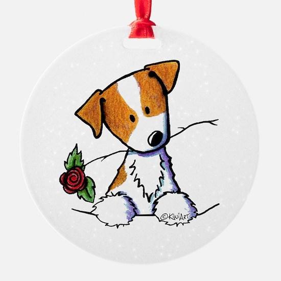 Pocket Rose JRT Ornament
