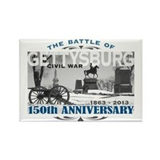 150 Anniversary Gettysburg Battle Rectangle Magnet
