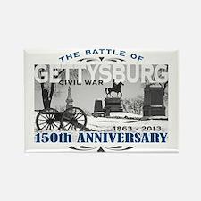 150 Anniversary Gettysburg Battle Rectangle Magnet