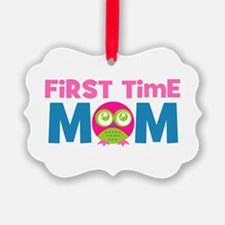 First Time Mom Maternity Ornament