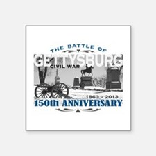 150 Anniversary Gettysburg Battle Sticker