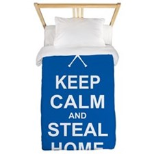 Keep Calm and Steal Home Twin Duvet