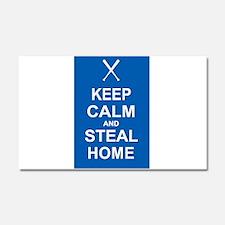 Keep Calm and Steal Home Car Magnet 20 x 12