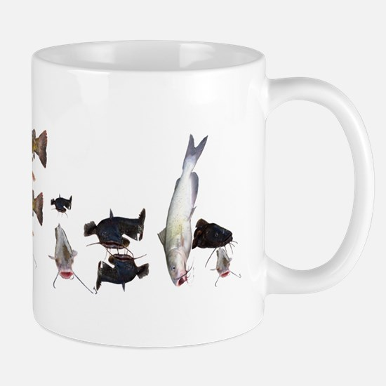 Catfish bumper sticker Mug