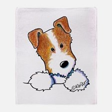 Pocket JRT BC2 Throw Blanket