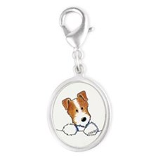 Pocket JRT BC2 Silver Oval Charm