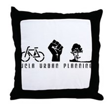 Cute Urban Throw Pillow