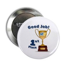 """MiceHunt 1st Place! 2.25"""" Button"""