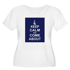 Keep Calm and Come About T-Shirt