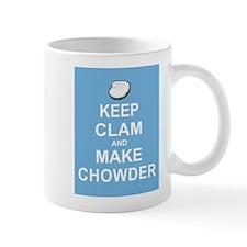 Keep Clam and Make Chowder Mug