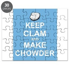 Keep Clam and Make Chowder Puzzle