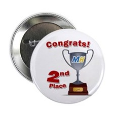 """MiceHunt 2nd Place! 2.25"""" Button (10 pack)"""