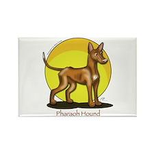 Pharaoh Hound Illustration Rectangle Magnet