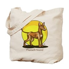 Pharaoh Hound Illustration Tote Bag