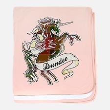 Dundee Unicorn baby blanket