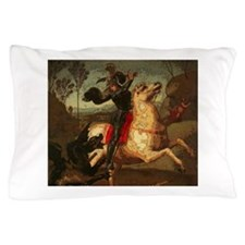 St. George Fighting Dragon Pillow Case