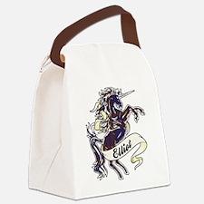 Elliot Unicorn Canvas Lunch Bag