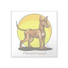 Pharaoh Hound Illustration Sticker