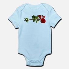 Vintage Red Rose Infant Bodysuit
