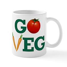 Go Veg Stacked Mug