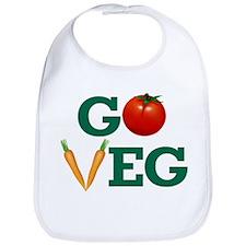 Go Veg Stacked Bib