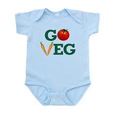 Go Veg Stacked Body Suit