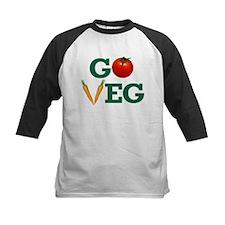 Go Veg Stacked Baseball Jersey