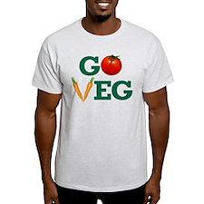 Go Veg Stacked T-Shirt