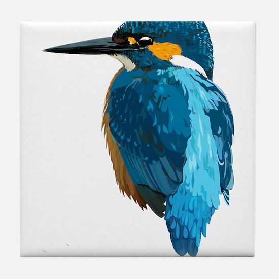 KingFisher Tile Coaster