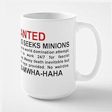 Evil genius seeks minions Mug