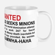 Evil genius seeks minions Small Small Mug