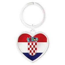 Croatian National Flag Keychains