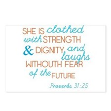 Proverbs 31 Woman Postcards (Package of 8)