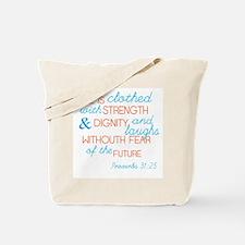 Proverbs 31 Woman Tote Bag