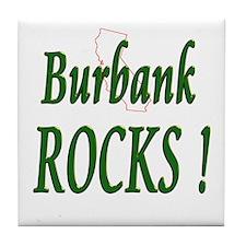 Burbank Rocks ! Tile Coaster