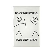 I Got Your Back Rectangle Magnet