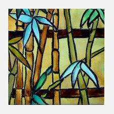Tiffany Bamboo Panel Tile Coaster