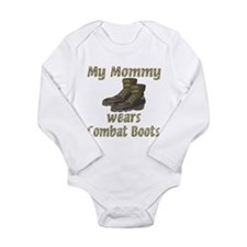 My Mommy Wears Combat Boots Body Suit