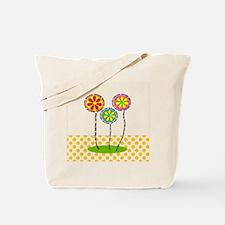 English teacher polka dots Tote Bag